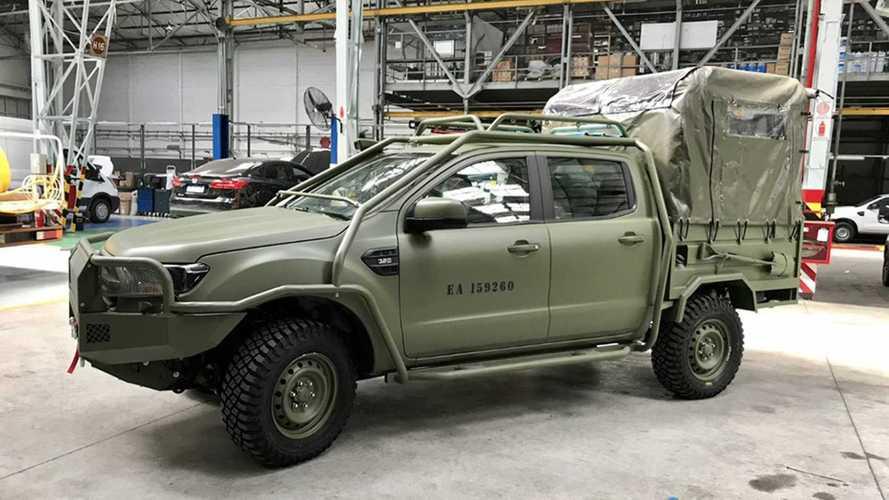 Ford Ranger vira veículo militar na Argentina