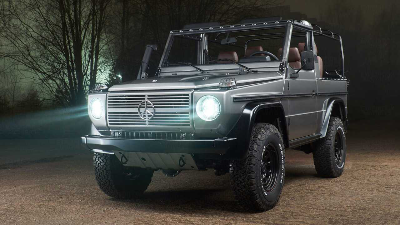Mil-Spec G-Wagen Transformed Into Bespoke Off-Roader