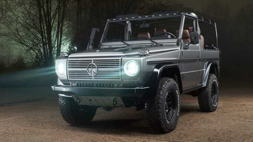 Mil-Spec Mercedes G-Wagen Transformed Into Bespoke Off-Roader