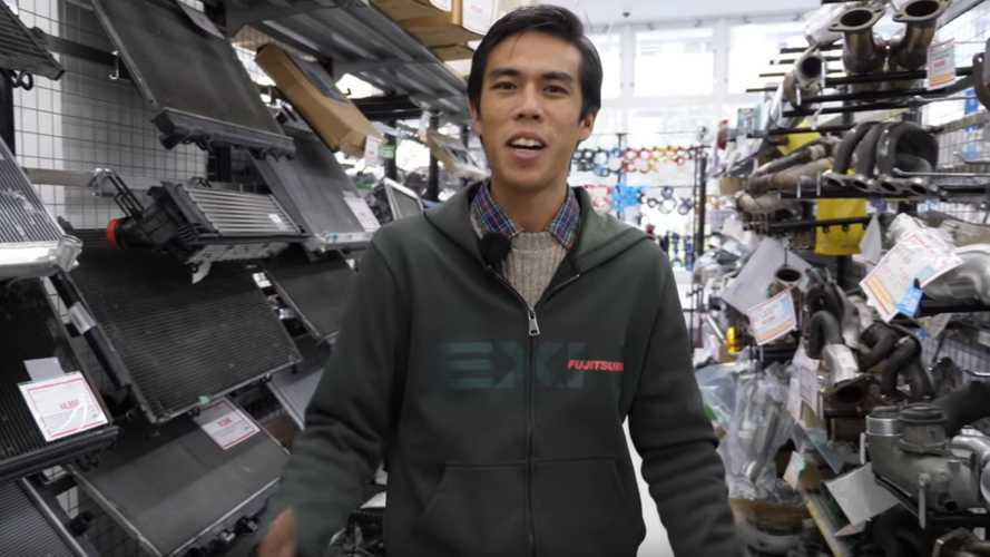 Check Out This Japanese Used Car Parts Store