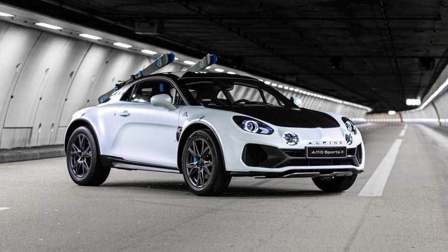 Alpine A110 SportX Concept, ha il rally nel sangue