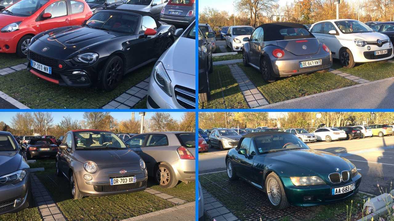Abarth 124 Spider/BMW Z3/Fiat 500C/Volkswagen Beetle Cabrio