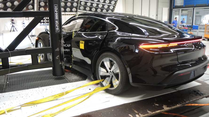 Crash Test EURO NCAP 2019 Porsche Taycan