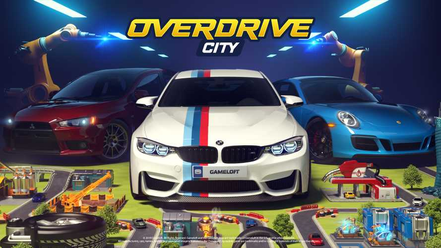 'Overdrive City' is a new kind of mobile game for car nerds