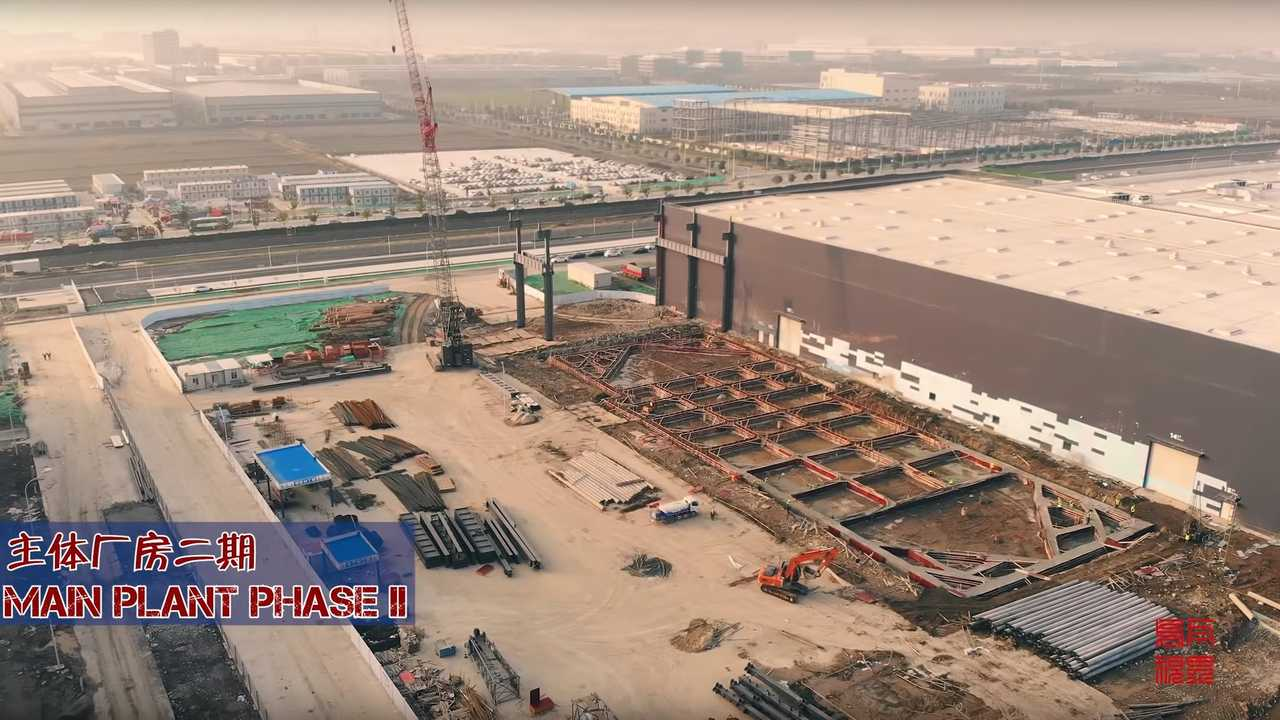 Tesla Gigafactory 3 (Source: 乌瓦)