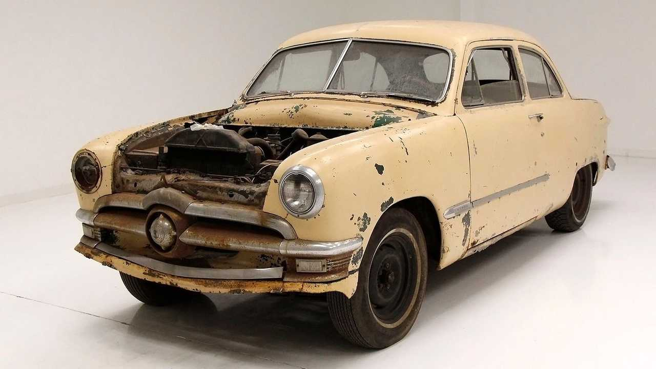 Show Some Love To This 1950 Ford Custom Barn Find Project