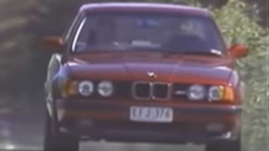 Watch This BMW E34 M5 Commercial