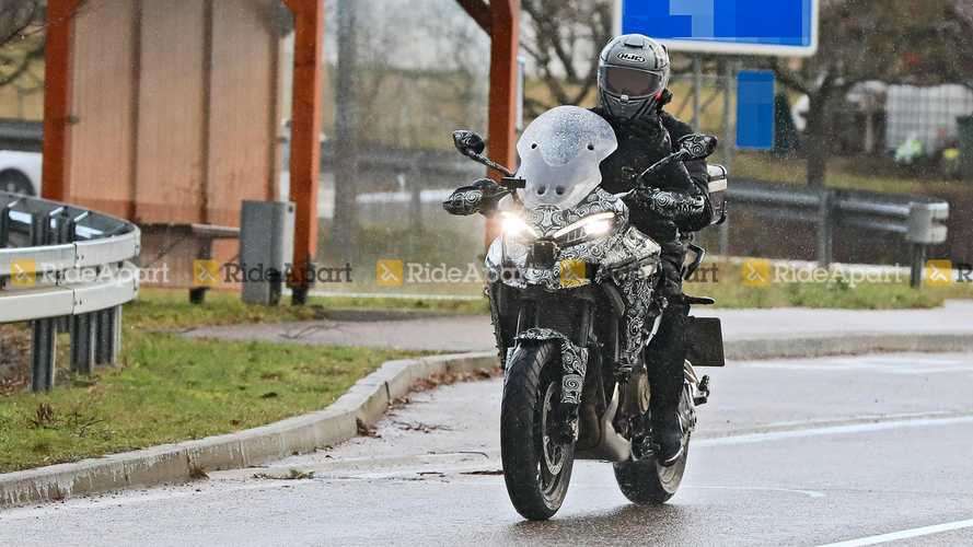 Ducati Multistrada V4 Spy Shots