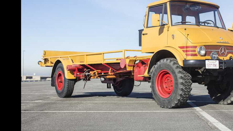1966 Mercedes Unimog Car Hauler Is The Coolest Thing Ever