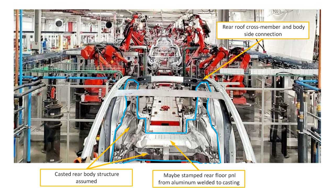 New Specialist Says Tesla Model Y May Have Bigger Cast Parts Than Expected