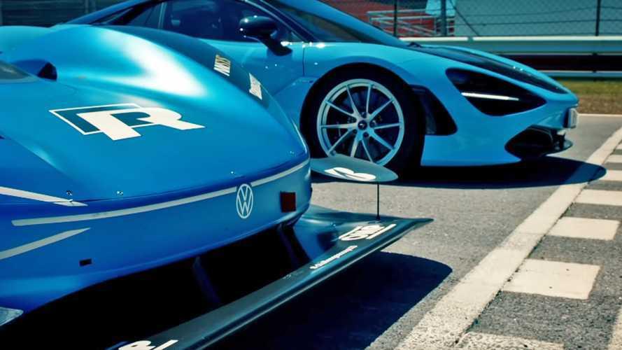 La Volkswagen I.D R affronte la McLaren 720S... et la laisse sur place