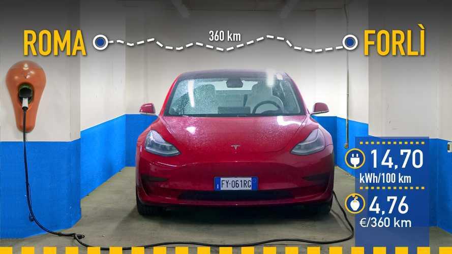 Tesla Model 3 2020, prueba de consumo real
