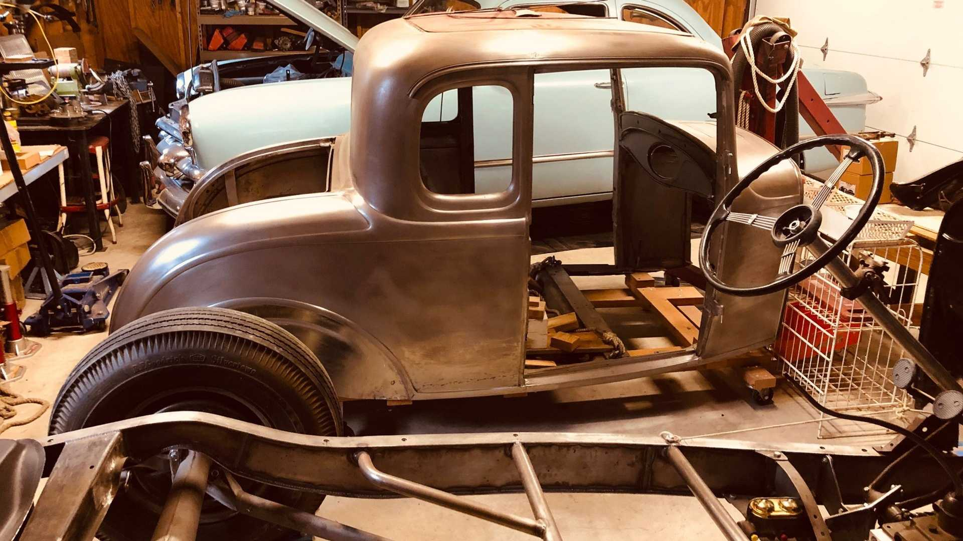 "[""Take On A 1932 Ford 5-Window Original Henry Ford Steel Project""]"