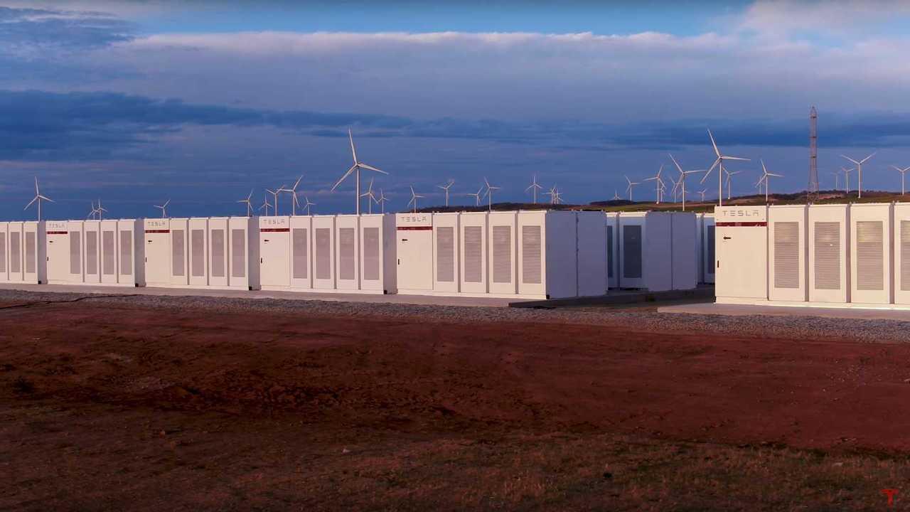 Tesla energy storage system