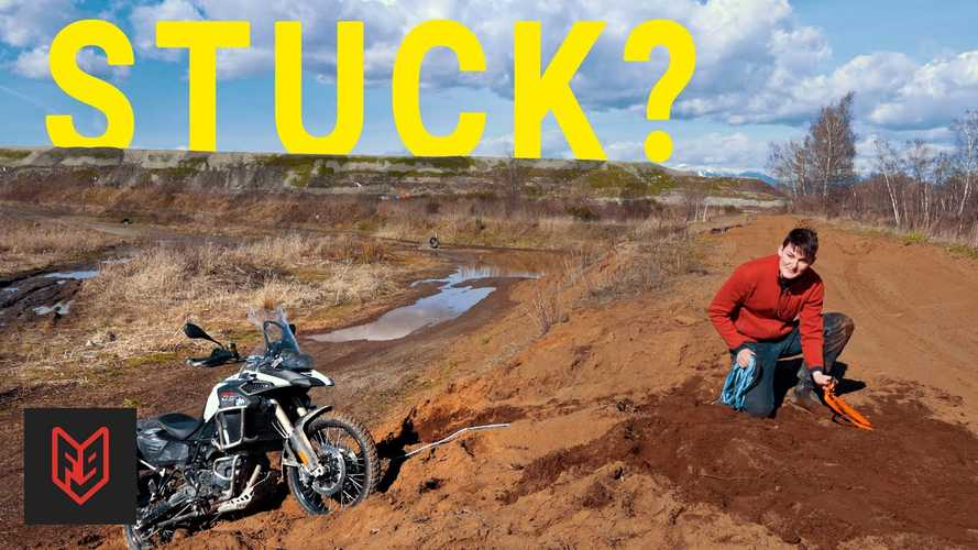 5 Tricks To Get A Motorcycle Unstuck When Off-Roading