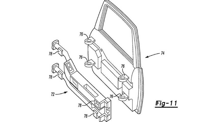 Ford Bronco Door Patent Screenshots