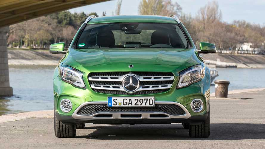 Mercedes GLA 2017 vs. 2020