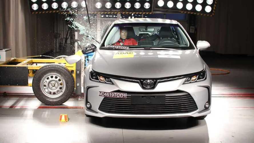Latin NCAP bate novos Corolla, HB20, Sandero e Logan; veja notas