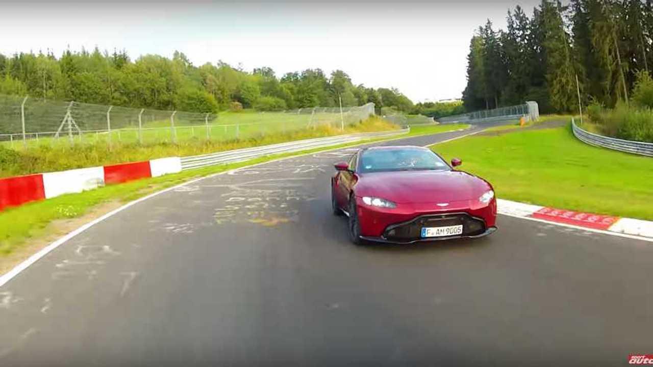 See Aston Martin Vantage Lap The Nurburgring In 7:43