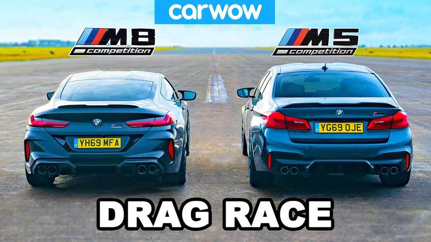 BMW M5 drag races M8: which Competition model is quicker?