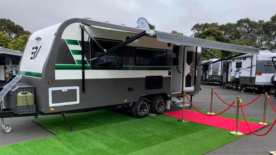 E-RV Trailer Goes All-Electric For Australian Outback Adventure