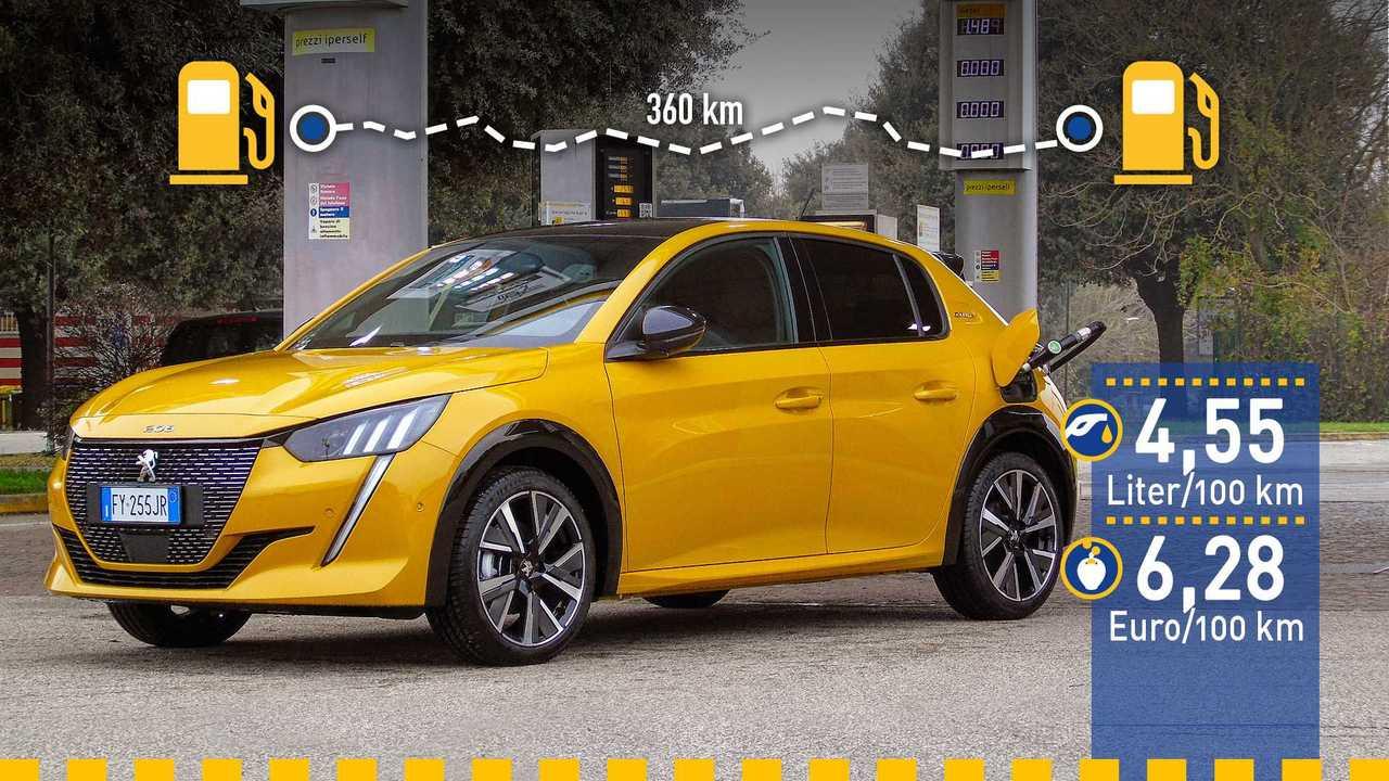 Peugeot 208 (2019) im Verbrauchstest