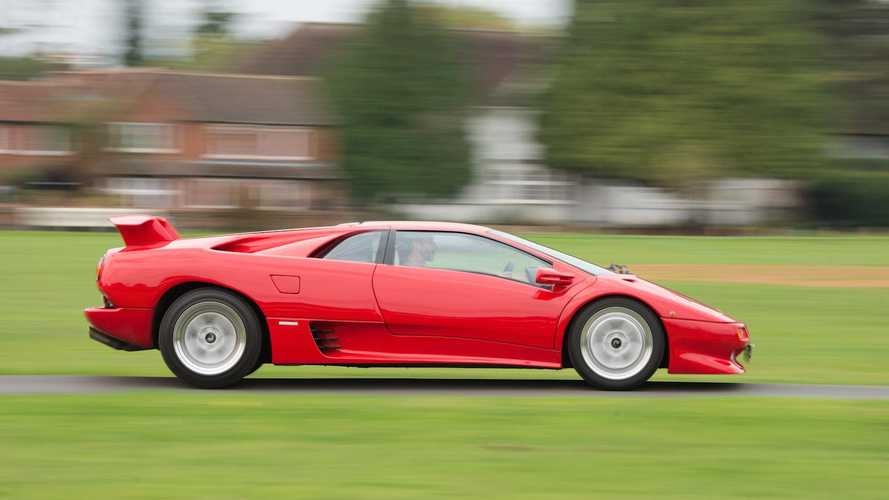 Driving the 8500-mile Lamborghini Diablo