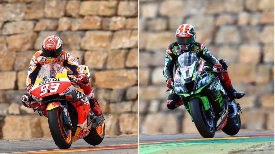 MotoGP vs Superbike, sfida virtuale tra Marquez e Rea a Jerez [VIDEO]