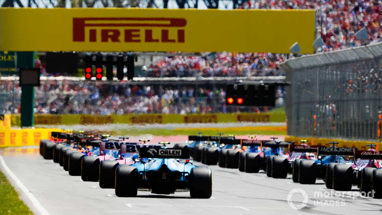 Canadian GP 2019 start of race
