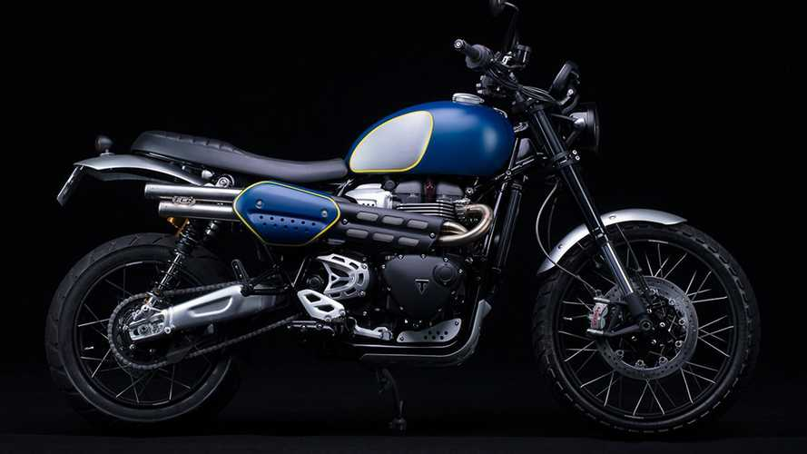 The Urban Scrambler Is A Tricked Out Triumph Scrambler 1200 XC