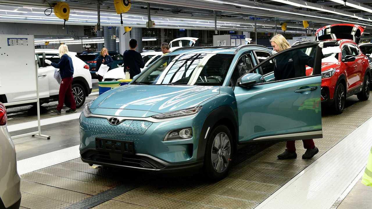 Hyundai Kona - fábrica