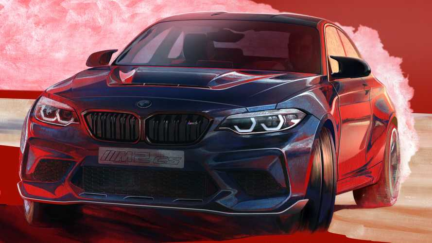 BMW M2 CS sketch
