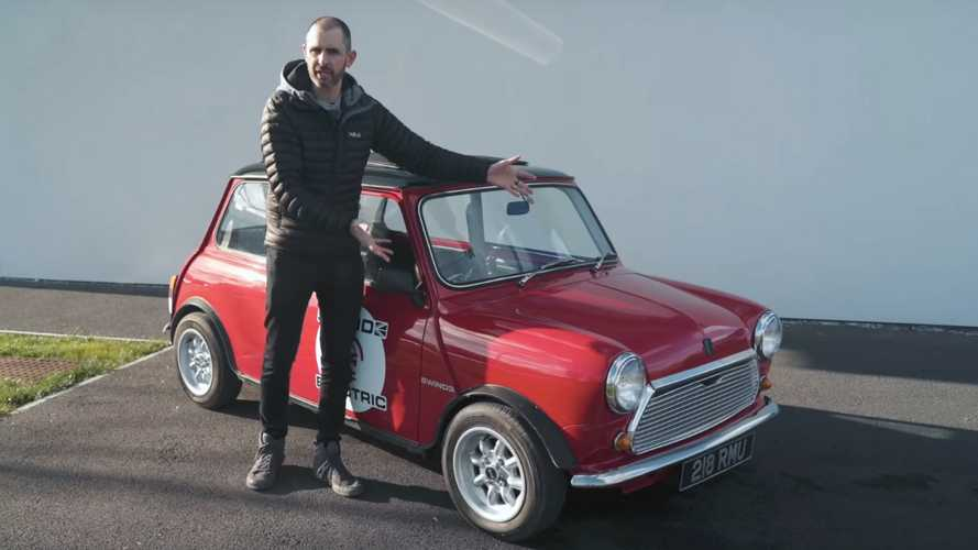 Jonny Smith Tries Out The All-Electric Mini Swind-E Classic