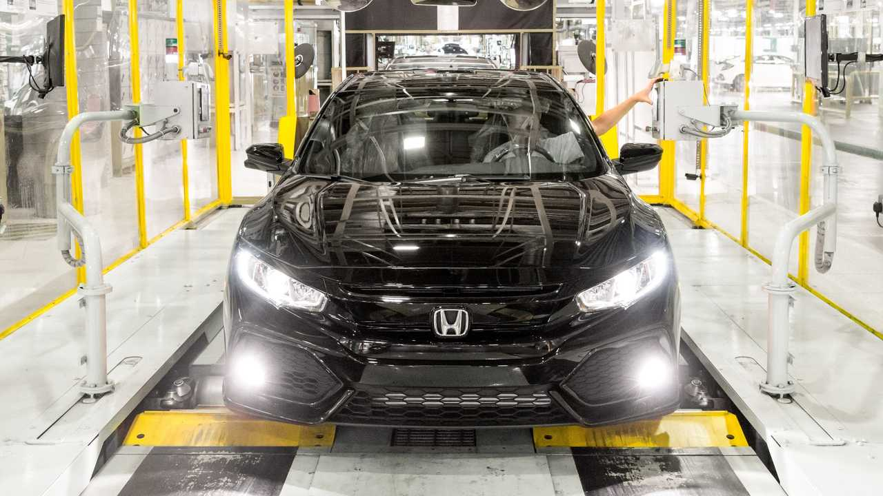 Honda Civic production Swindon UK