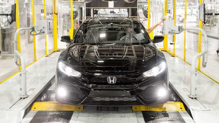 Honda closes Swindon factory due to coronavirus
