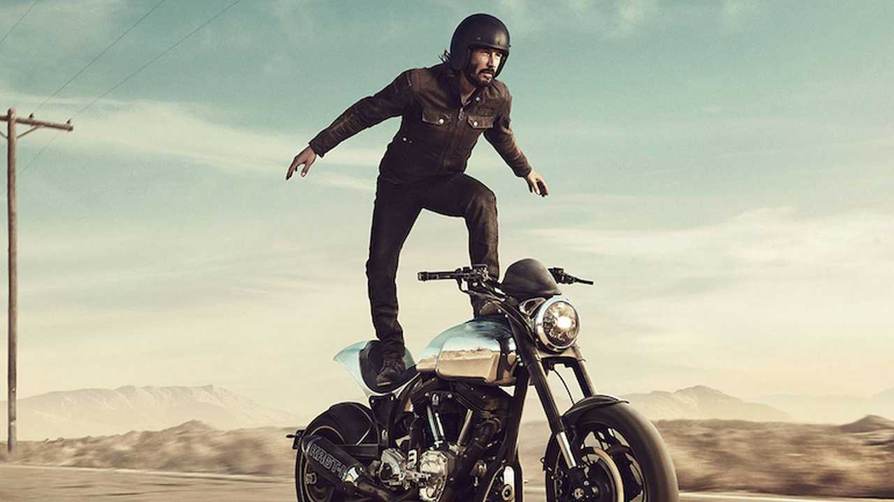 Keanu Bike Surfs For Squarespace