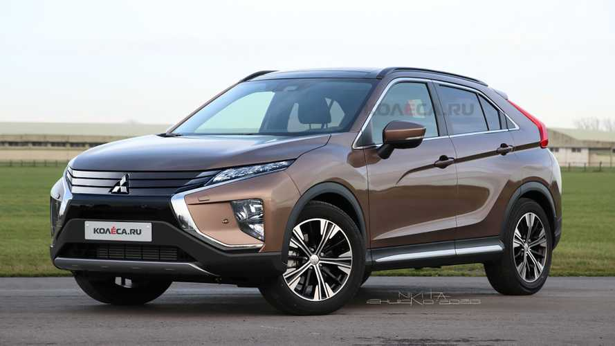 Mitsubishi Eclipse Cross Renderings Preview Updated Look