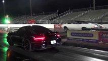 Chevy Chevelle SS Races Porsche 911 Turbo S