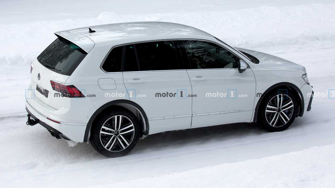 Volkswagen Tiguan R 2020, fotos espía