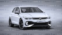 Volkswagen Golf 8 R Render