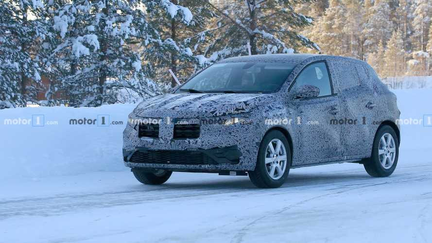 La Dacia Sandero apparaît une nouvelle fois