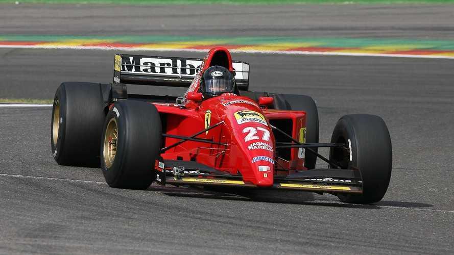 El primer Ferrari F1 que pilotó Schumacher está en venta