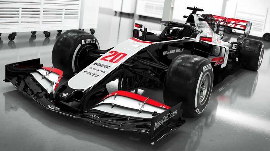 Haas Reveals Images Of 2020 Formula 1 Car