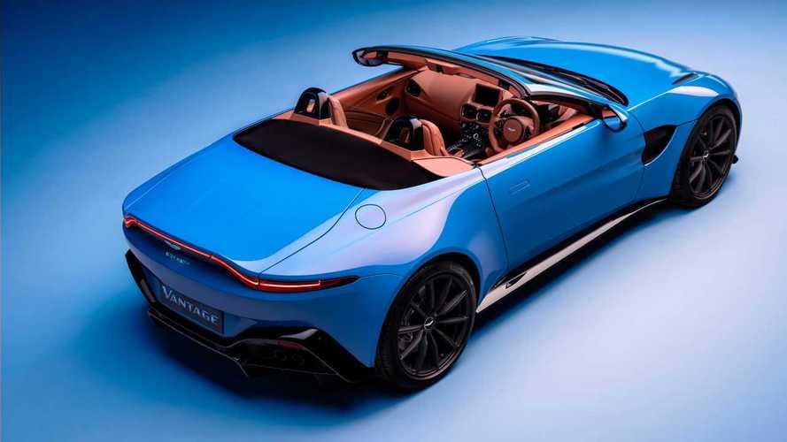 Aston Martin Vantage Roadster, velocissima anche a scoprirsi