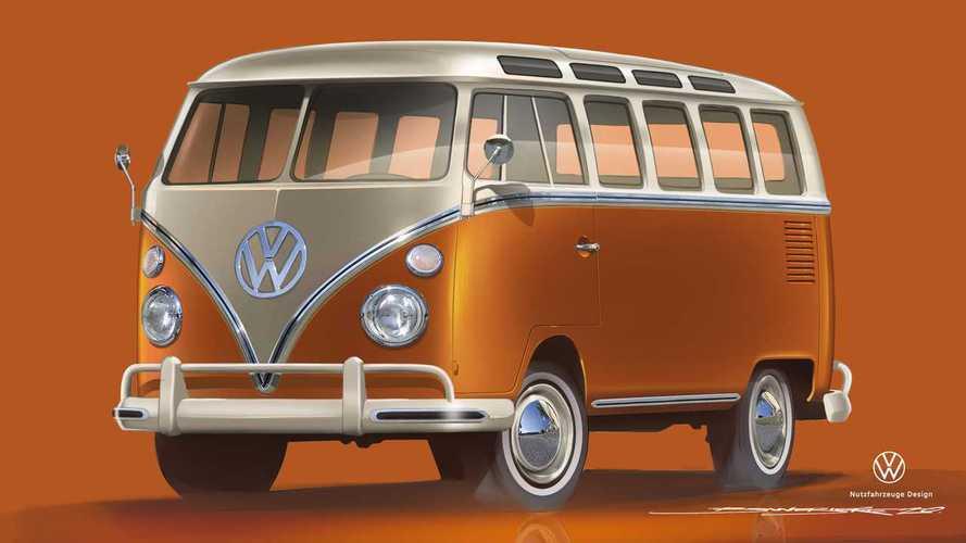 Volkswagen T1 elettrico, a Essen il futuro dei classici