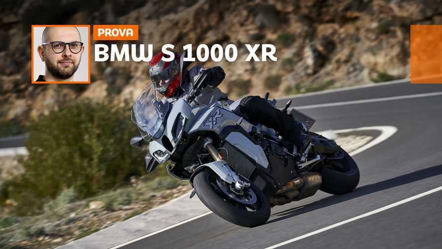 BMW S 1000 XR 2020, la prova su strada