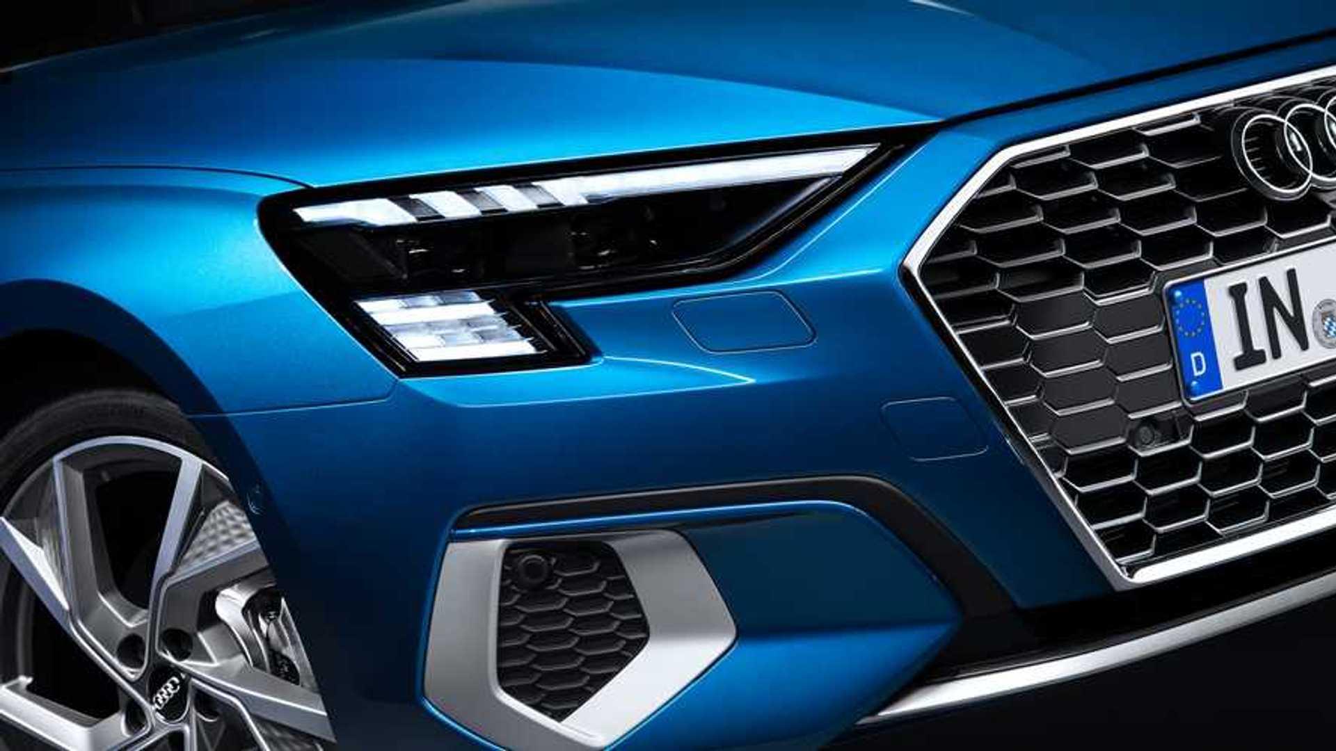2020 Audi RS3'ün farlarında çok ince bir detay olacak