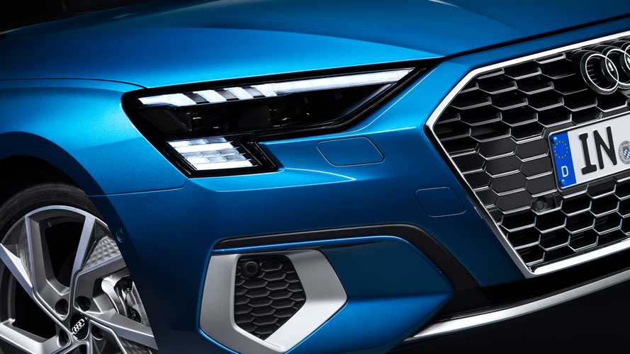 New Audi RS3 Headlights Will Have Checkered Flag Motif