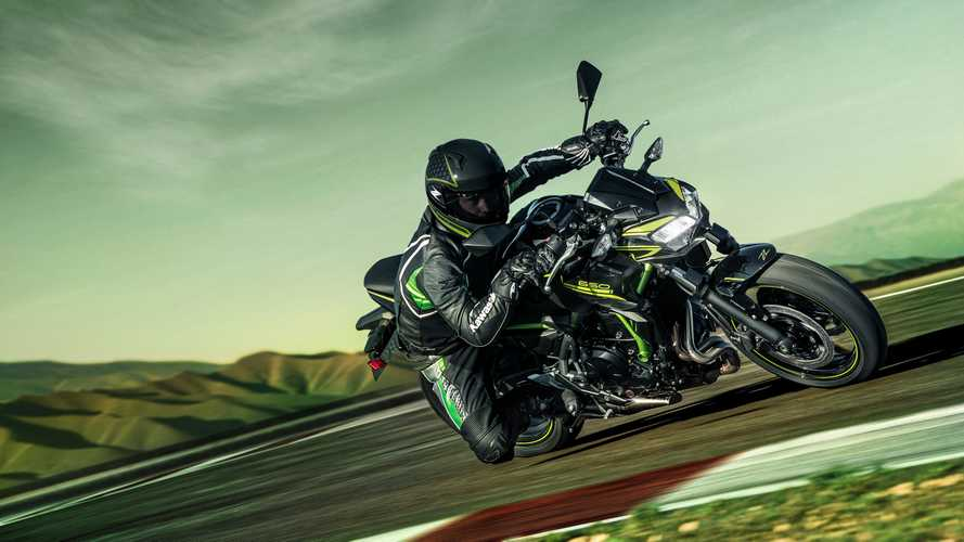 Kawasaki, la Z650 2020 in azione [VIDEO]