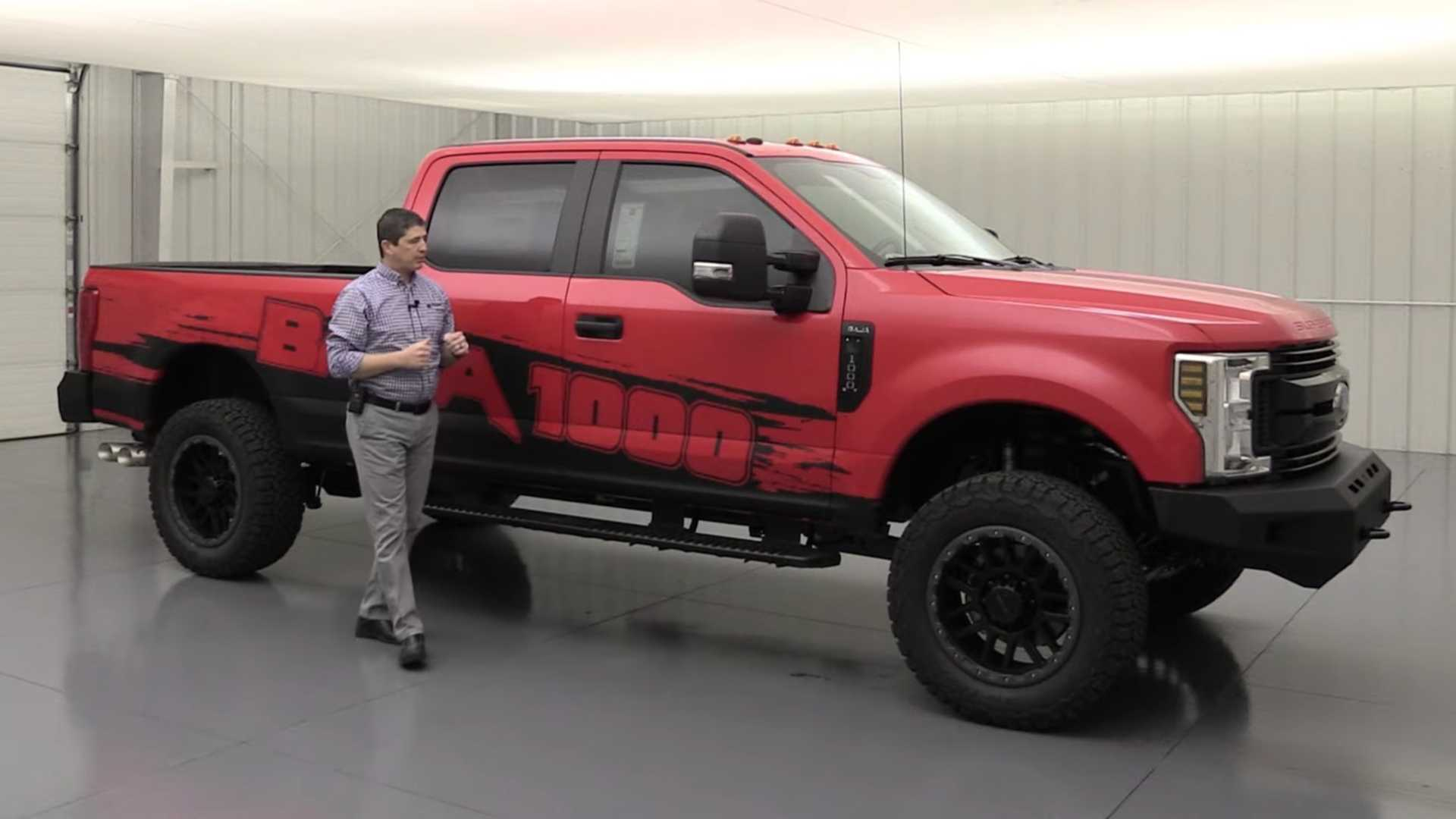 Ford Dealer Selling Baja 1000 Super Duty With Four-Digit Torque